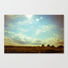 Shooting the Breeze Canvas Print