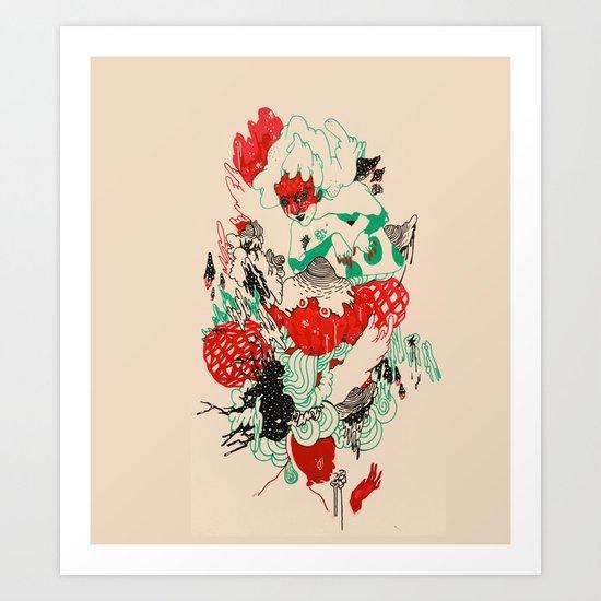 rebirther Art Print