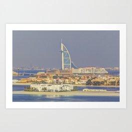 Burj AL Arab Dubai Art Print