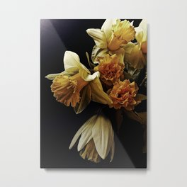 Spring Daffodil Bouquet; You're the Only One Metal Print