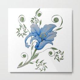 Stylised Flower  Metal Print