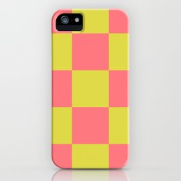 Trendy Genuine Chessboard Lycanthrope iPhone Case