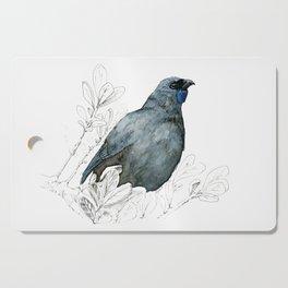 Kōkako, New Zealand native bird Cutting Board