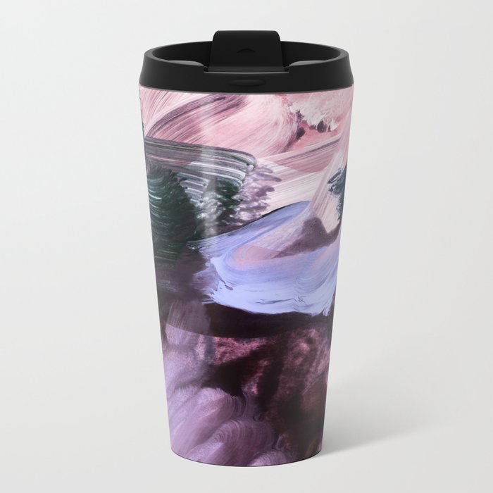 abstract painting VII Metal Travel Mug