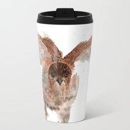 Hawk on the Hunt Travel Mug