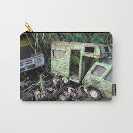 Rusty Toy Trucks Carry-All Pouch