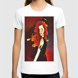 Clary Fray from The Mortal Instruments by Cassandra Clare T-shirt