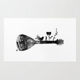Guitar Childhood Rug