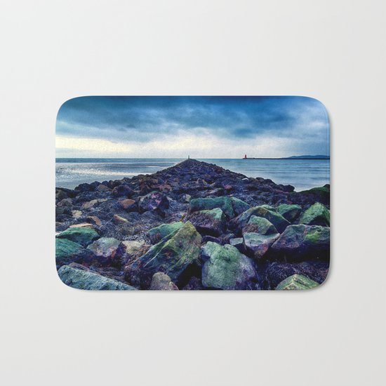 Road to the Sea Bath Mat