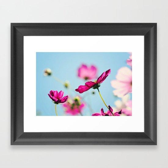 Summer flowers Framed Art Print