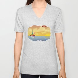 Pixelized : Wind Waker  Unisex V-Neck