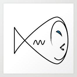 Infinity Swirl Art Print