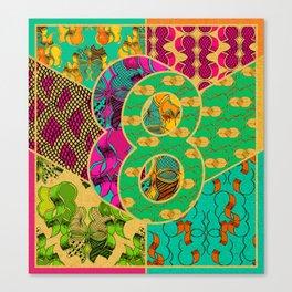 Tile 8 Canvas Print