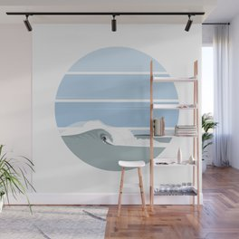 Surfer's Glory Day Wall Mural