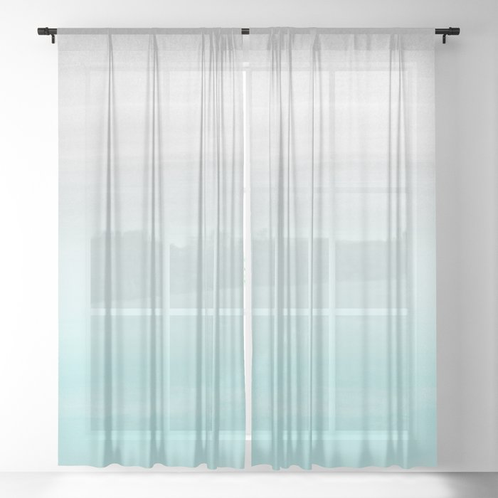 Aqua Blue And Grey Curtains The Best