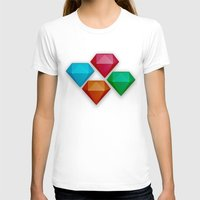 diamonds T-shirts featuring Diamonds by Andrew Leif Hanssen