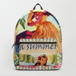 I' ve got a summer in my heart Backpack