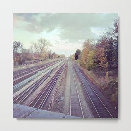 Mystery train. Metal Print