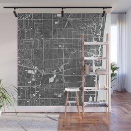 Fort Lauderdale USA Modern Map Art Print Wall Mural