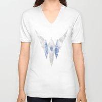 starfox V-neck T-shirts featuring StarFox Hero by Head Glitch