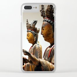 Ancient Far Eastern Art 6 Clear iPhone Case