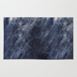 Blue Clouds, Blue Moon Rug