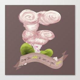 E for Effie Trinket Canvas Print