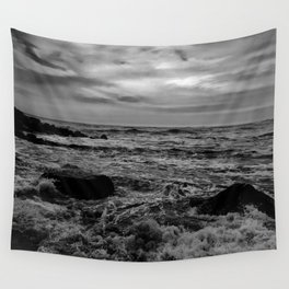 Black and White SEA Wall Tapestry