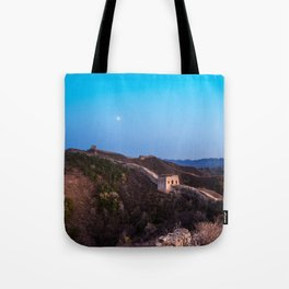 The Great Wall Moon Tote Bag