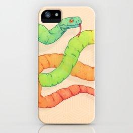 GELATIN SNAKE iPhone Case