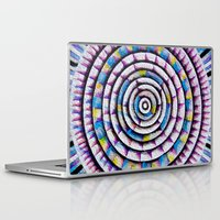 fibonacci Laptop & iPad Skins featuring 12 Rings of Fibonacci by Todd Huffine