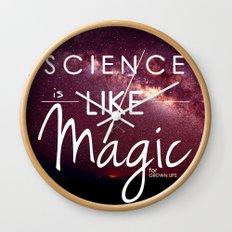 Science is Magic Wall Clock
