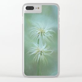 Will-o'-the-wisps In the Garden Clear iPhone Case