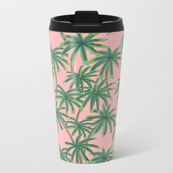 Palms Obsession Metal Travel Mug