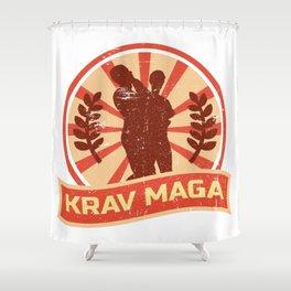 Krav Maga Propaganda | Martial Arts Self Defense Shower Curtain