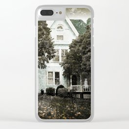 Haunted Hauntings Series - House Number 3 Clear iPhone Case