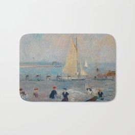 Seascape with Six Bathers, Bellport Bath Mat