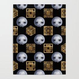 Chibi Pinhead & Puzzle Boxes Poster