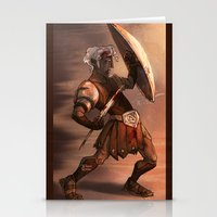 gladiator Stationery Cards featuring Gladiator by normalitea