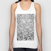 pulp fiction Tank Tops featuring Pulp fiction by GrandeDuc