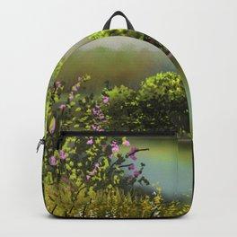 Wildrose bush 8 Backpack