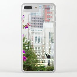 San Francisco Union Square Clear iPhone Case