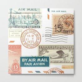 Airmail Metal Print