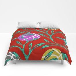 Basketball Flowers Comforters