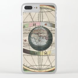 Harmonia Macrocosmica Map - Plate 02 Clear iPhone Case