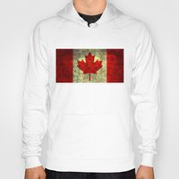 canada Hoodies featuring Oh Canada! by Bruce Stanfield