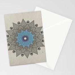 Digital Mandala #5 Stationery Cards
