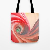 fifth element Tote Bags featuring Fifth Gogurt by Rabassa