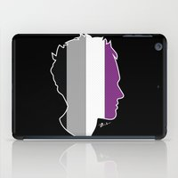 asexual iPad Cases featuring Asexual Love by Winter Graphics