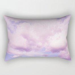 Pink Clouds In The Blue Sky #decor #society6 #buyart Rectangular Pillow
